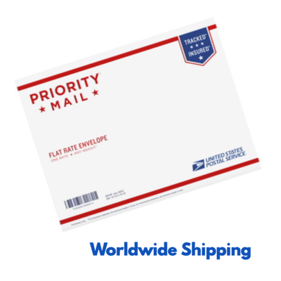 Worldwide Priority Mail International 6–10 Business Days Flat Rate Shipping