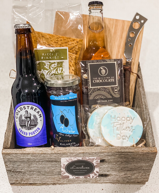 Father's Day Cheese Board Box