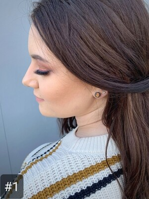 Stud Clay Earrings - 'Regular'