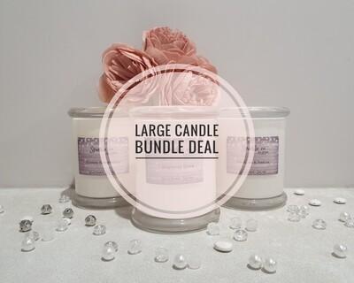 Large Soy Candle Bundle