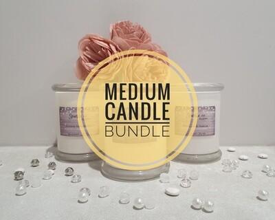 Medium Soy Candle Bundle