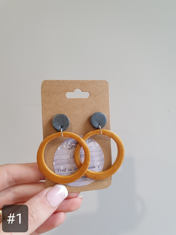 Statement Hoop Earrings