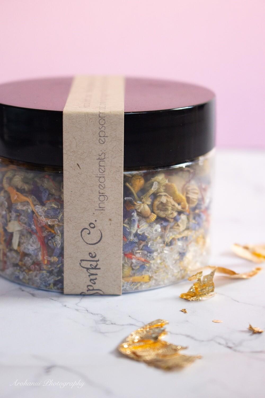 Floral Bath Soak Jar/Packet