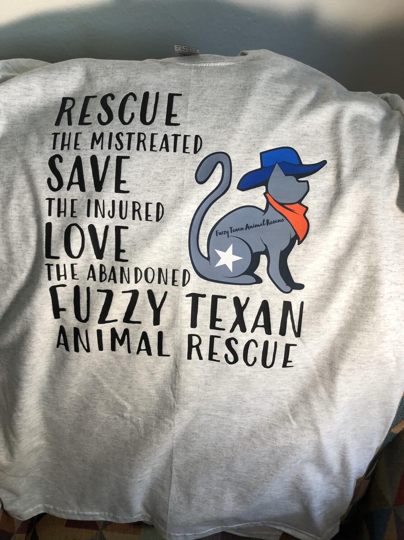 Rescue Slogan T Shirt
