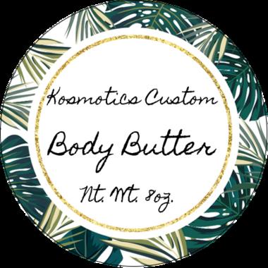 Custom Whipped Shea Body Butter