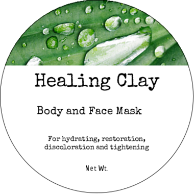 Healing Indian Clay Body and Face Mask