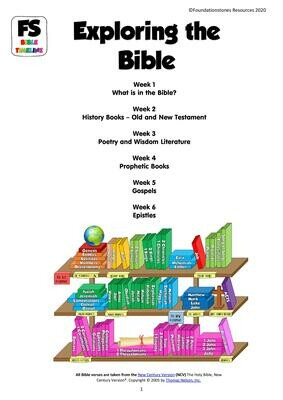 Exploring the Bible - 6 week series