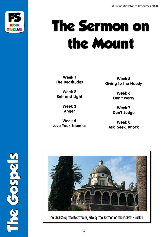 The Sermon on the Mount - 8 week series