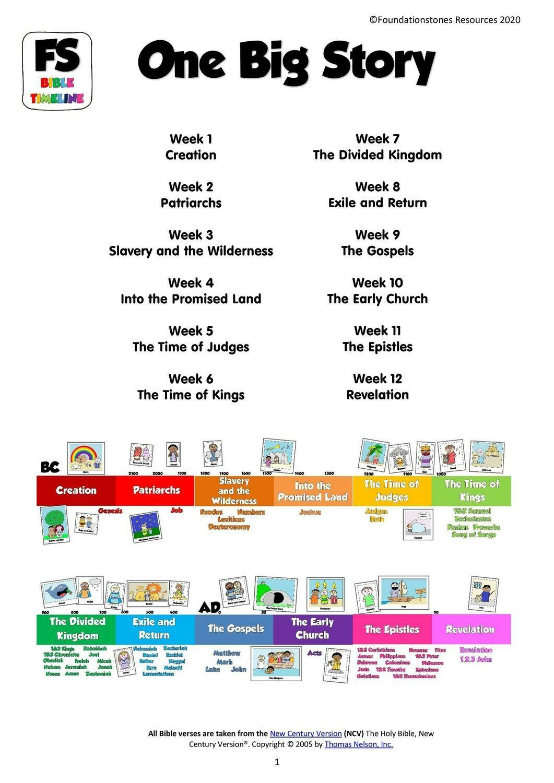 One Big Story - 12 week series