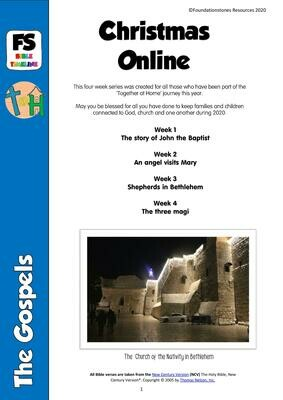 Christmas Online - 4 week series