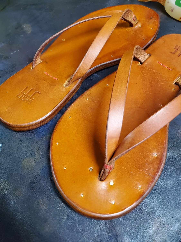 Custom Handmade Leather Sandals