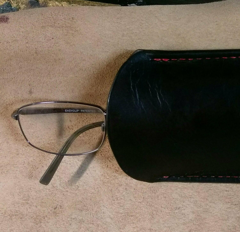 Custom Made EYE Glasses Case