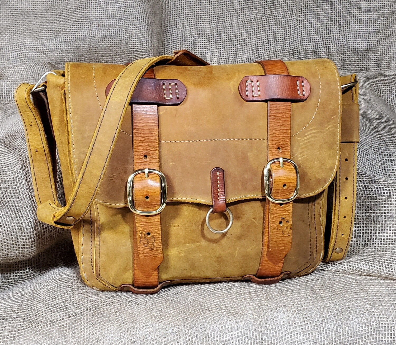 "Satchel/Briefcase ""Tangerine"""