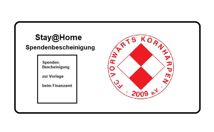 Korni Stay@Home Spendenbescheinigung