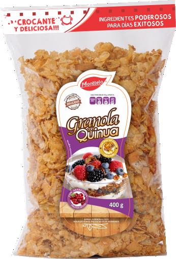 Granola Monttelo Quinua con Arándanos