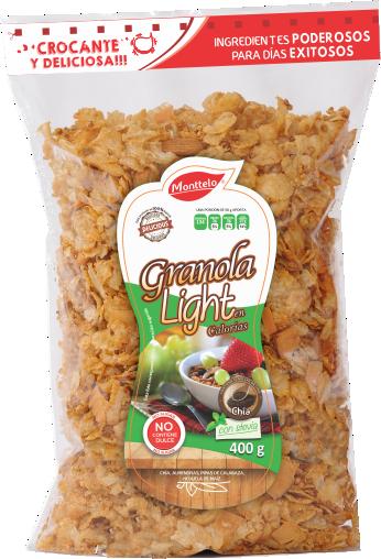 Granola Monttelo Light con Chia y Stevia