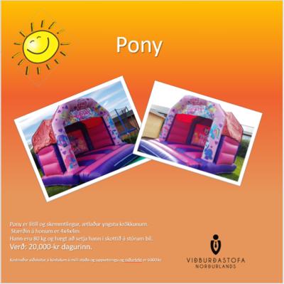 Pony Hoppukastali