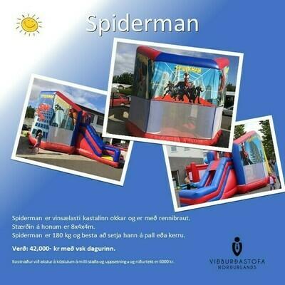 Spiderman kastali