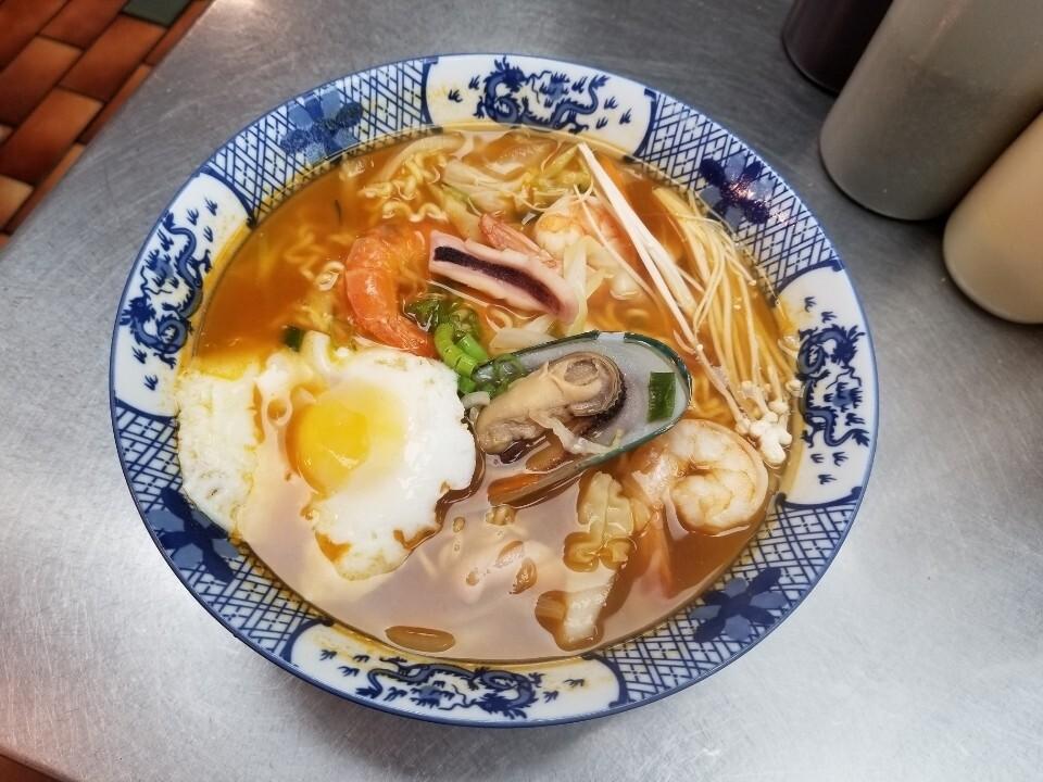 Seafood Nabeyaki Udon