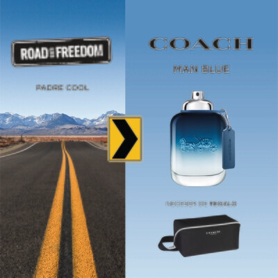 COACH MAN BLUE EDT 100 VAP