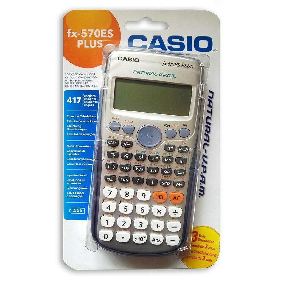 CALCOLATRICE SCIENTIFICA CASIO FX 570 ES PLUS  417 FUNZ.
