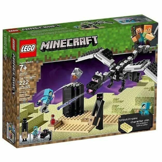 LEGO MINECRAFT - LA BATTAGLIA DELL'END