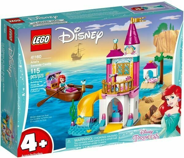 ARIEL CASTELLO SUL MARE T LEGO DISNEY
