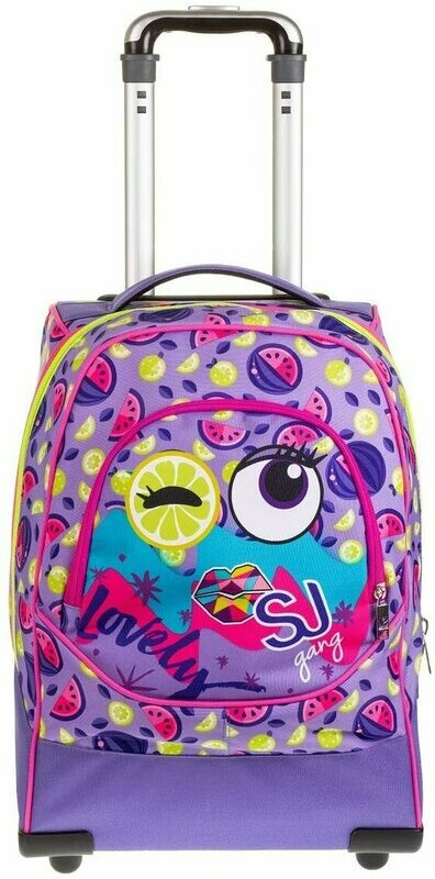 ZAINO TROLLEY 3WHEELS SJ GANG GIRL VIOLET