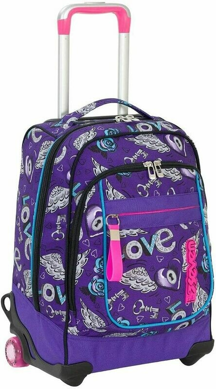 ZAINO TROLLEY ROUND SEVEN GIRL KEYS