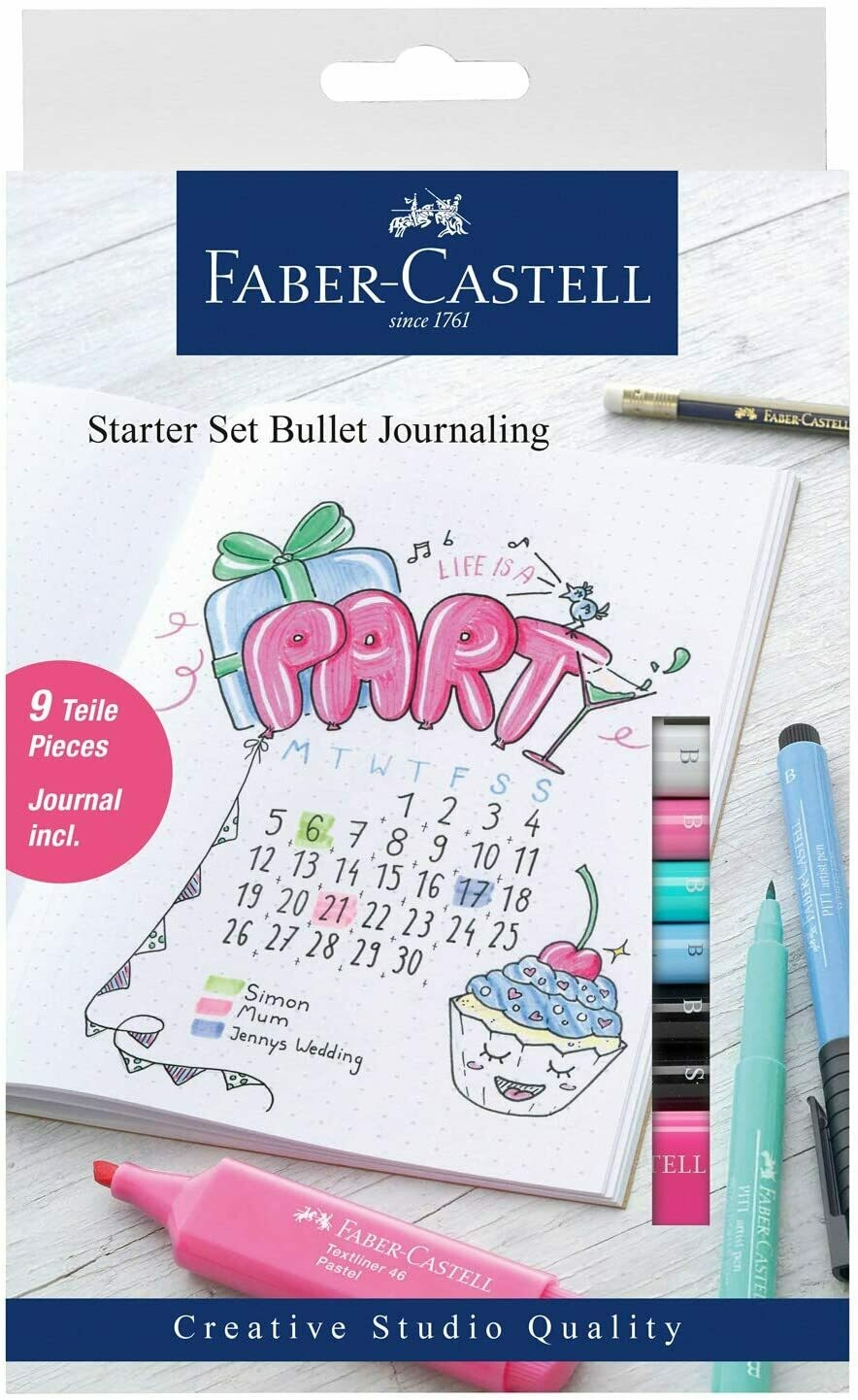 STARTER SET BULLET JOURNALING FABER CASTELL