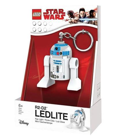 PORTACHIAVI STAR WARS R2-D2 LEDLITE CON LUCE LED