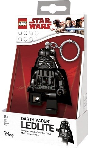 PORTACHIAVI STAR WARS DARTH VADER CON LUCE LED