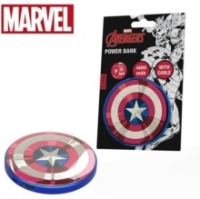 POWER BANK 4000 mAh CAPTAIN AMERICA
