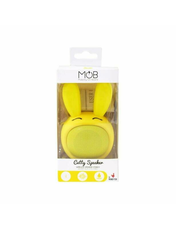 CUTIE SPEAKER - ALTOPARLANTE BLUETOOTH WATERPROOF GIALLO