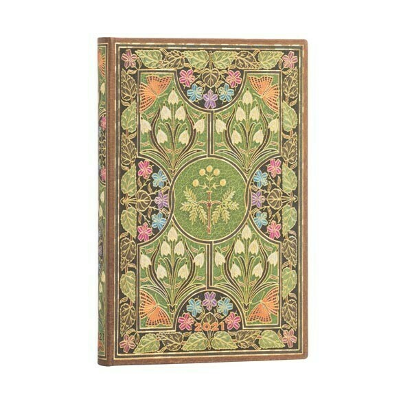AGENDA PAPERBLANKS 2021SETTIMANALE ORIZZONTALE Poetry in Bloom 9.5X14