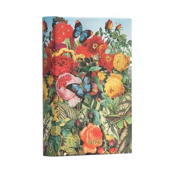 AGENDA PAPERBLANKS 2021 GIORNALIERA Butterfly Garden 9,5X14