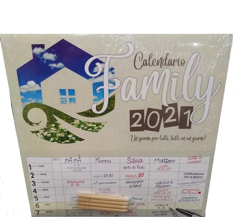CALENDARIO 2021 30X30 FAMILY