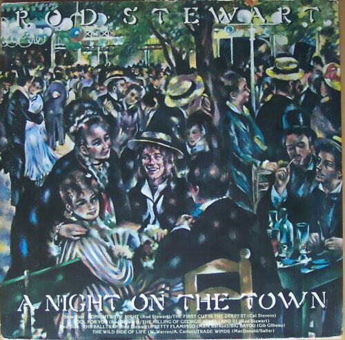Rod Stewart - A Night On The Town Images