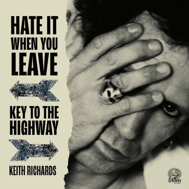 RICHARDS,KEITH / HATE IT WHEN YOU LEAVE B/W KEY TO THE HIGHWAY (RED VINYL/GATEFOLD/RARE B-SDIE) (RSD