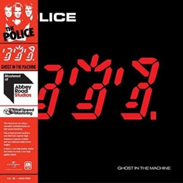 POLICE / GHOST IN THE MACHINE (HALF SPEED MASTER)
