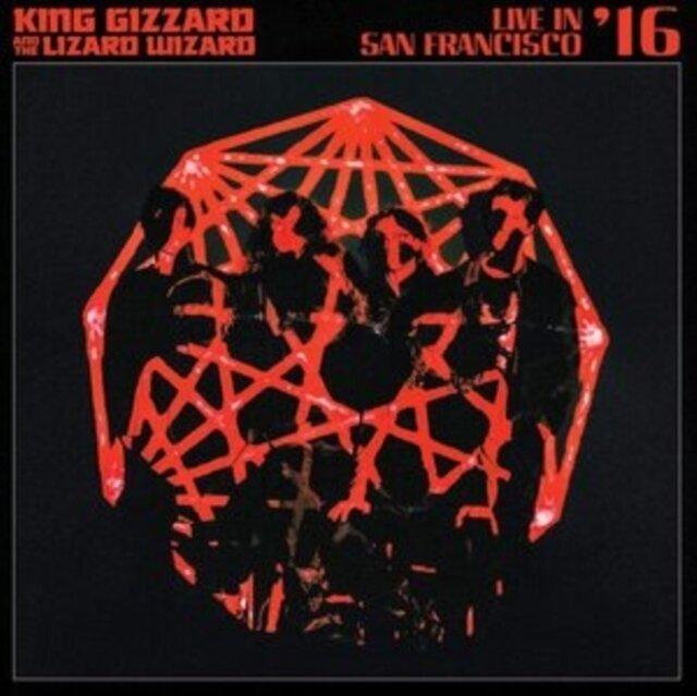 KING GIZZARD & THE LIZARD WIZARD / LIVE IN SAN FRANCISCO '16 (DELUXE/2LP/FOG/SUNBURST VINYL)