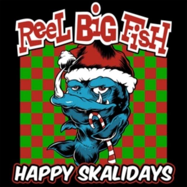 REEL BIG FISH / HAPPY SKALIDAYS (GOLD VINYL)