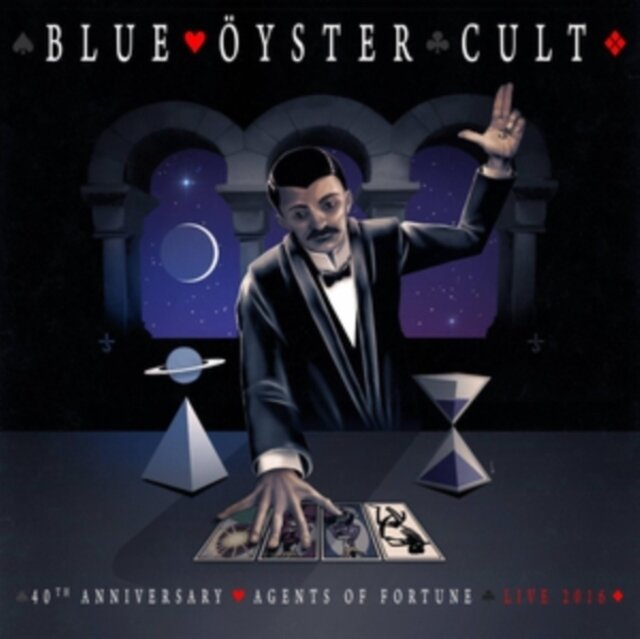 BLUE OYSTER CULT / 40TH ANNIVERSARY - AGENTS OF FORTUNE - LIVE 2016