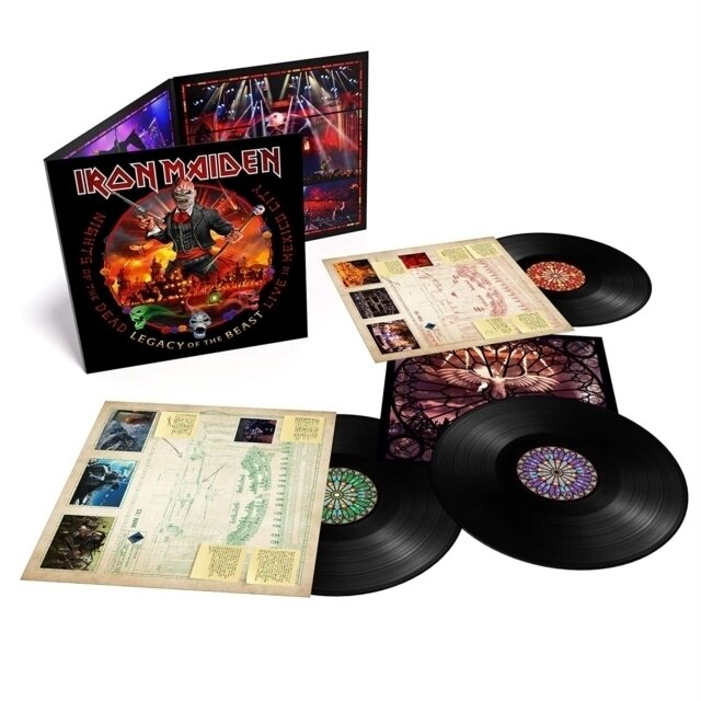 IRON MAIDEN / NIGHTS OF THE DEAD, LEGACY OF THE BEAST: LIVE IN MEXICO CITY (X) (3LP/180G)