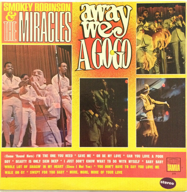 Smokey Robinson & The Miracles - Away We A Go-Go