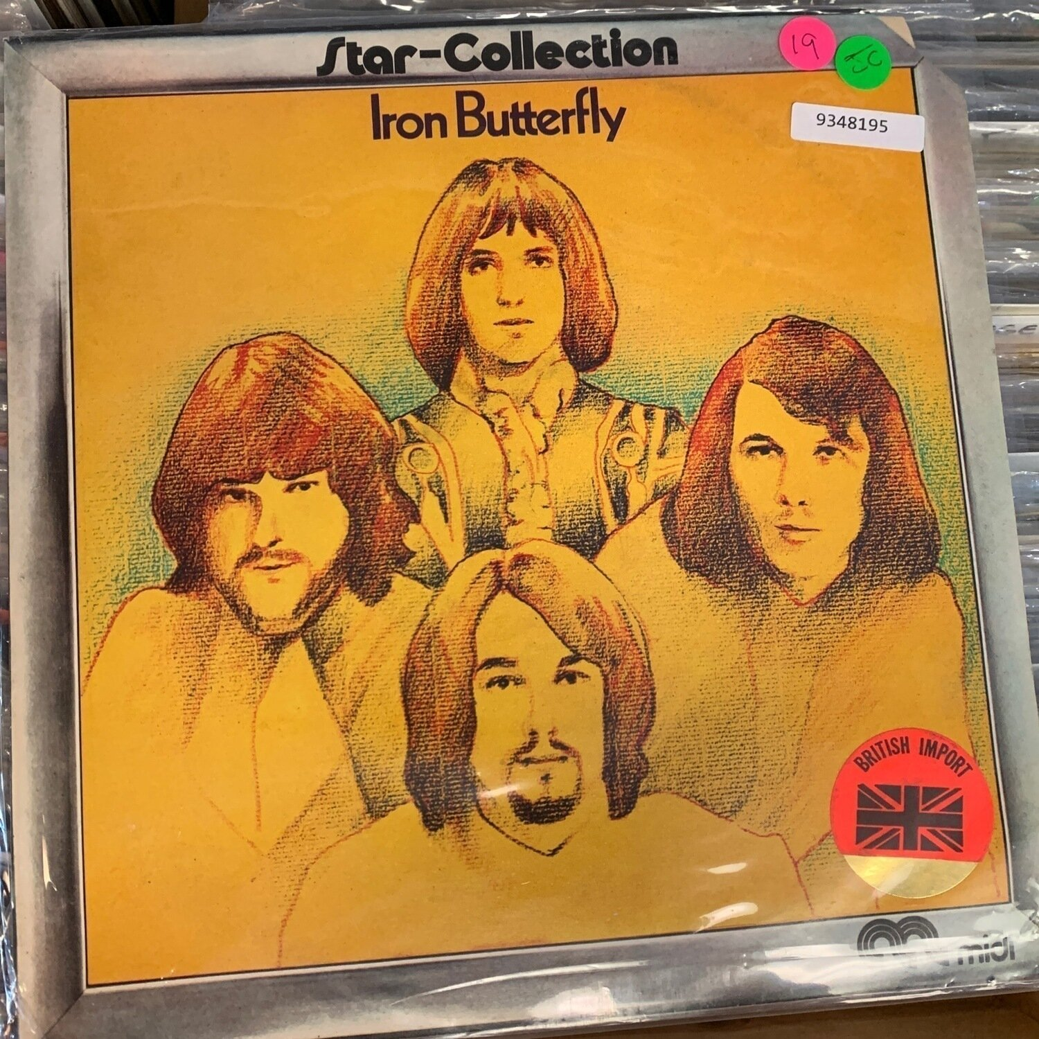 Iron Butterfly - Star-Collection British Import