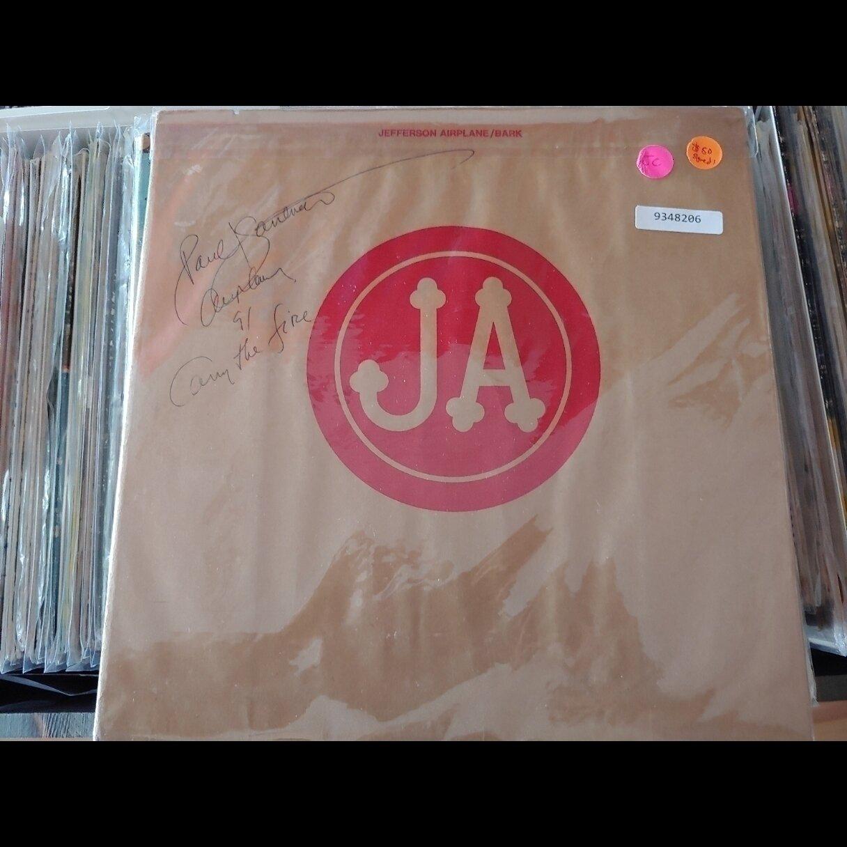 Jefferson Airplane - Bark (Autograph)