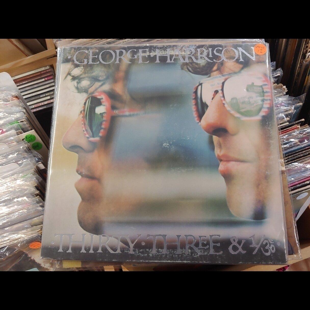 Harrison, George - George Harrison-THIRTY-THREE-AND 1/3