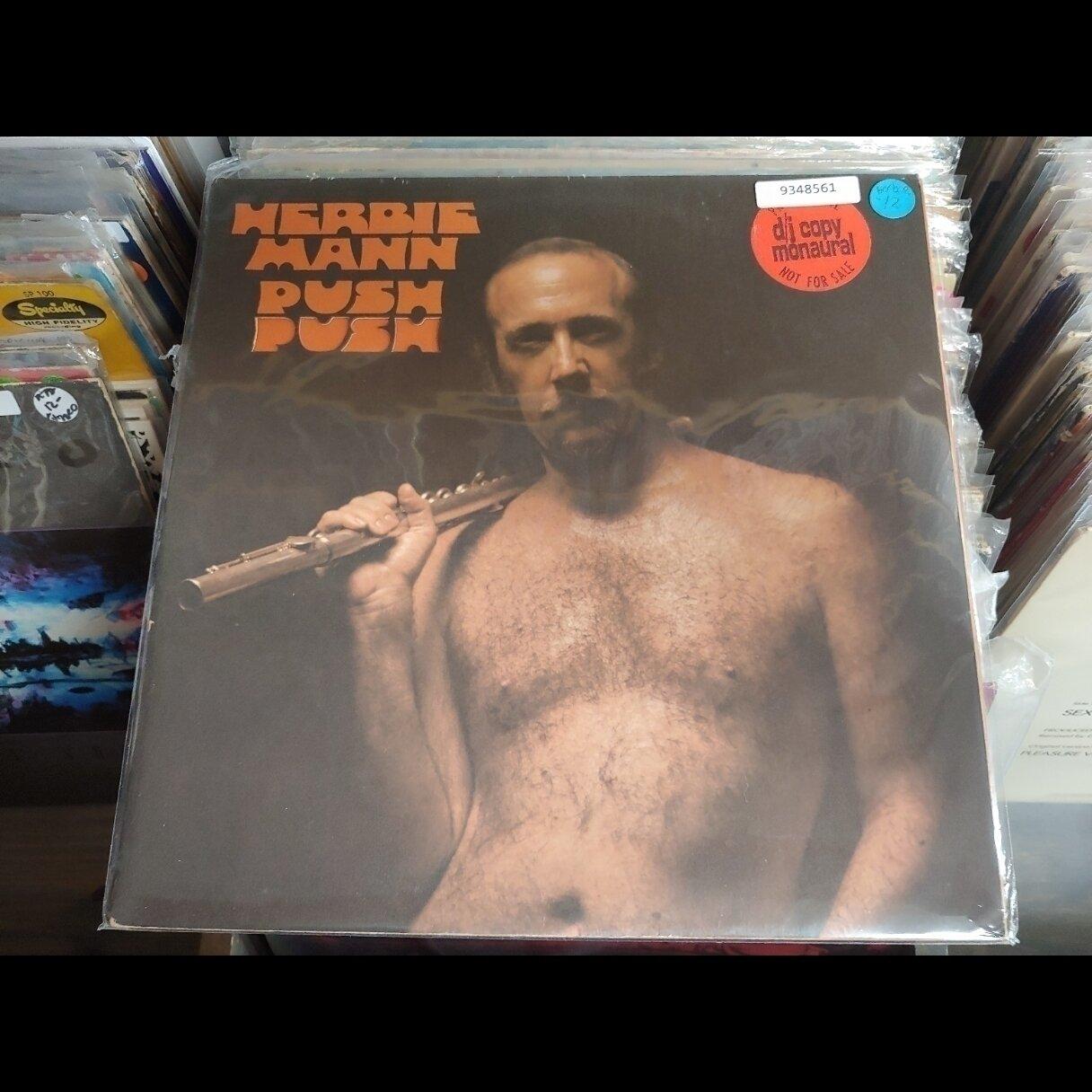 MANN, Herbie - PUSH PUSH PROMO DJ COPY MONO