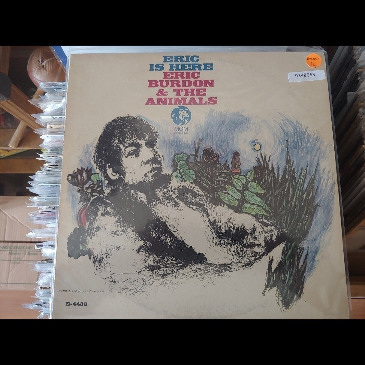 Animals, The Eric Burdon and the Animals Eric is here